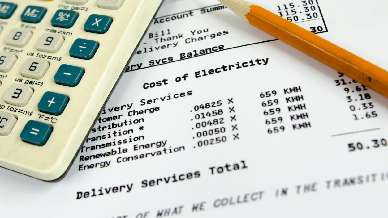 Utilities bill